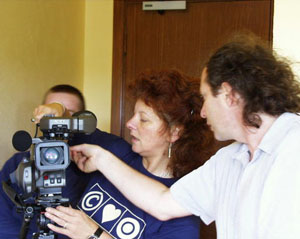 A film-making workshop in Mallow