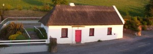 Davy's Cottage, part of the community complex in Ballinvreena