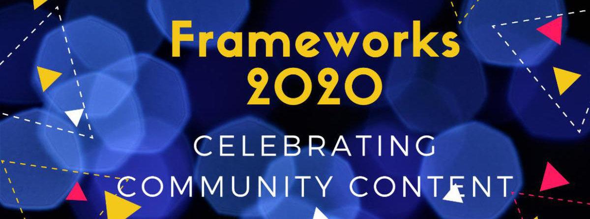 Frameworks 2020 Invite banner